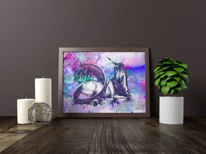 Unicorn Art Print - LDS