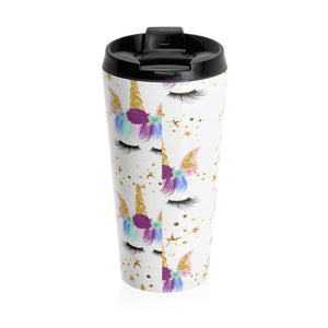 Unicorn Stainless Steel Travel Mug - LDS
