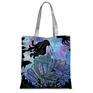 Mermaid Sublimation Tote Bag - LDS