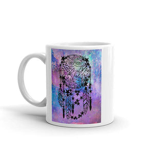 Owl Dreamcatcher Coffee Mug - LDS