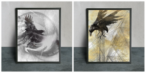 Raven Art Print Set - LDS
