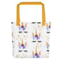 Unicorn Head All Over Tote Bag - LDS
