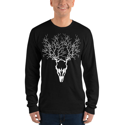 Skull Tree Long sleeve t-shirt (unisex) - LDS