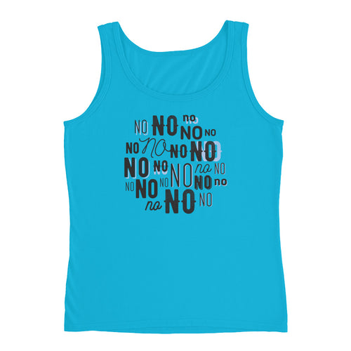 Funny No Ladies' Tank - LDS