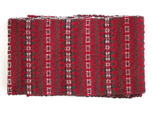 BRUXELLES WOOL SCARF - CHRISTMAS DESIGN