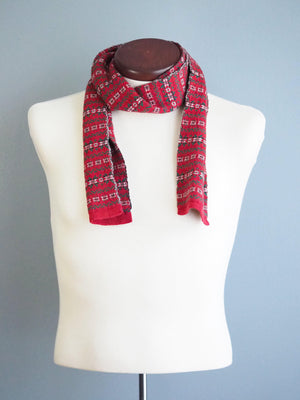 BRUXELLES WOOL SCARF - CHRISTMAS DESIGN - Cochic - Free shipping