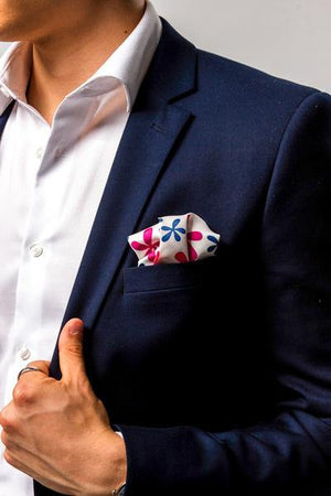 COCHIC® – POP FLOWERS POCKET SQUARE