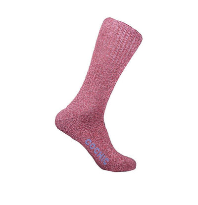 Organic Cotton Comfortable Socks - Raspberry - Cochic
