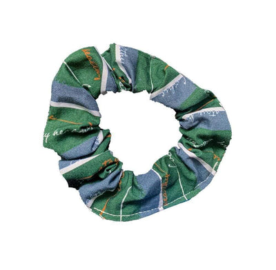 Antibacterial Cotton Hair Tie - Green Pastures - Cochic