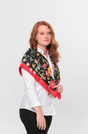 black-red-women-silk-scarf-les-jardins-fiorito