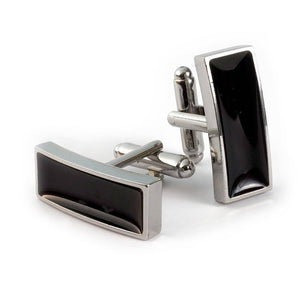 Nero Pentera Cufflinks - Cochic® Simple