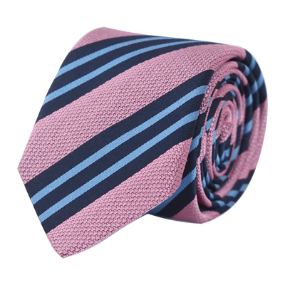 BACHELOR TIE PINK - SKINNY - Cochic