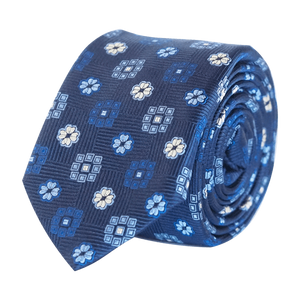 COCHIC® – FANCY TIE BLUE NAVY - SLIM - Cochic - Free shipping