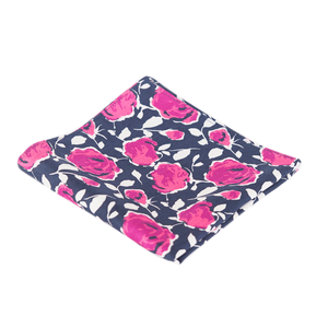 COCHIC® – PINK ROSES POCKET SQUARE