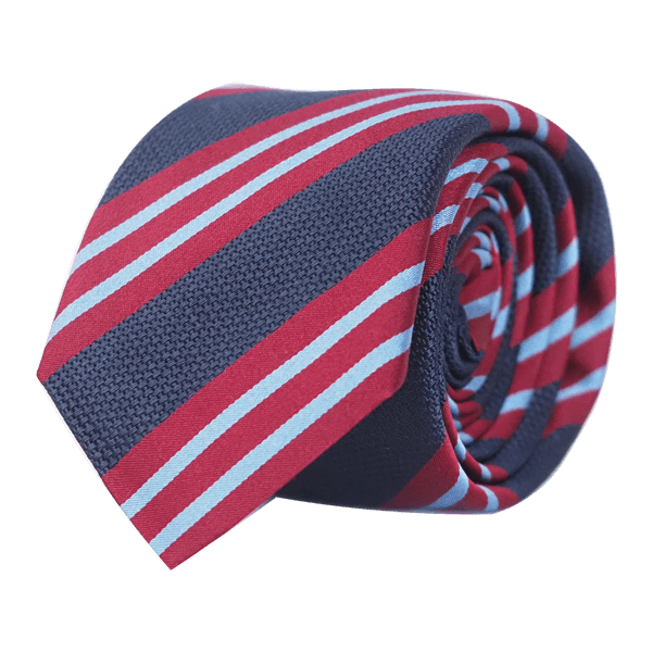 red-blue-silk-tie-bachelor-handmade-striped-slim-italy