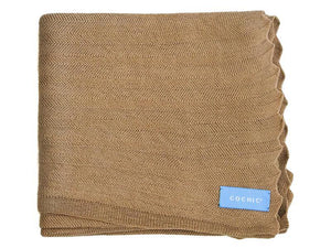 EDIMBURGO COTTON SCARF - CAMEL