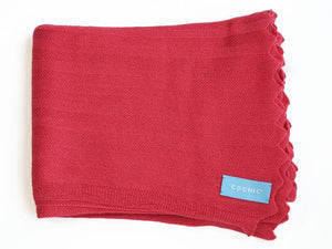 EDIMBURGO COTTON SCARF - CORAL