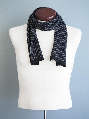 MONTREAL WOOL SCARF - BLACK - Cochic - Free shipping