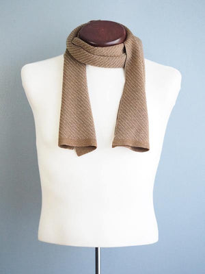 MONTREAL WOOL SCARF - CAMEL - Cochic - Free shipping