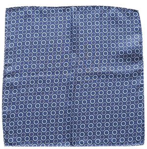 COCHIC® – BLUE RINGS POCKET SQUARE - Cochic - Free shipping