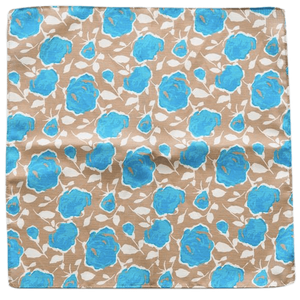 COCHIC® – BLUE ROSES POCKET SQUARE