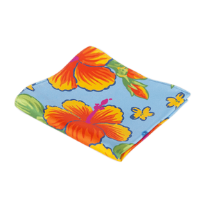 COCHIC® – HIBISCUS POCKET SQUARE - Cochic - Free shipping
