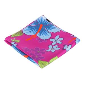 COCHIC® – PURPLE HIBISCUS POCKET SQUARE - Cochic - Free shipping