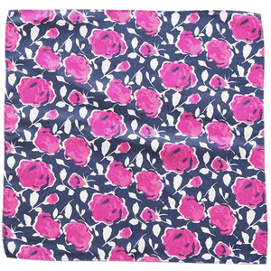 COCHIC® – PINK ROSES POCKET SQUARE - Cochic - Free shipping