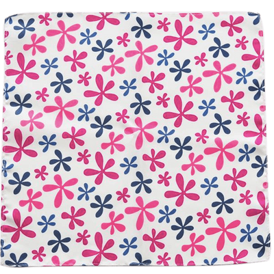POP FLOWERS POCKET SQUARE - Cochic