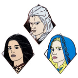 The Witcher Enamel Pin Set