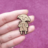 Bad Elf Dobby Hard Enamel Glitter Pin