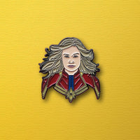 Captain Marvel Enamel Pin