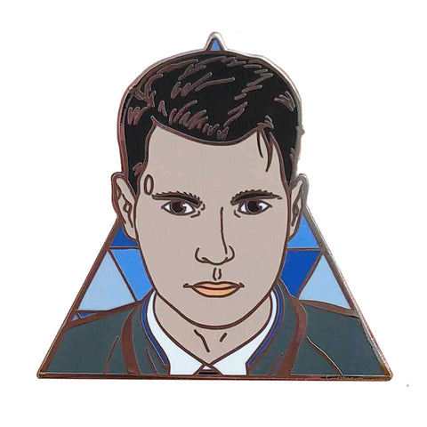 Detroit Become Human Connor Hard Enamel Pin