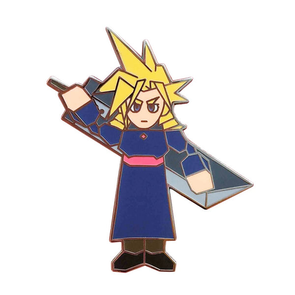 Drag Cloud FFVII Hard Enamel Pin