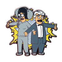 Bob's Burgers Electric Love Glitter Hard Enamel Pin