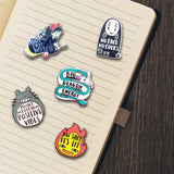 Ghibli Mood Pin Set