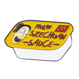 Rick And Morty Mulan Szechuan Sauce Enamel Pin