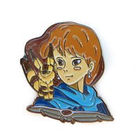 Nausicaa Of The Valley Of The Wind Enamel Pin