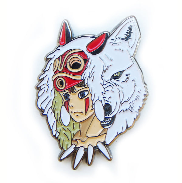 Princess Mononoke Enamel Pin