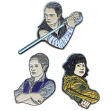 Star Wars Heroine Enamel Pin Set