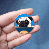 If You Give A Pug A Cookie Hard Enamel Pin