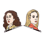 Killing Eve Hard Enamel Pin Set