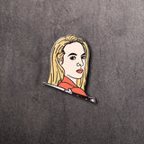 Killing Eve Villanelle Hard Enamel Pin
