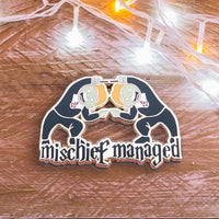 Fred And George Weasley Mischief Managed Hard Enamel Pin