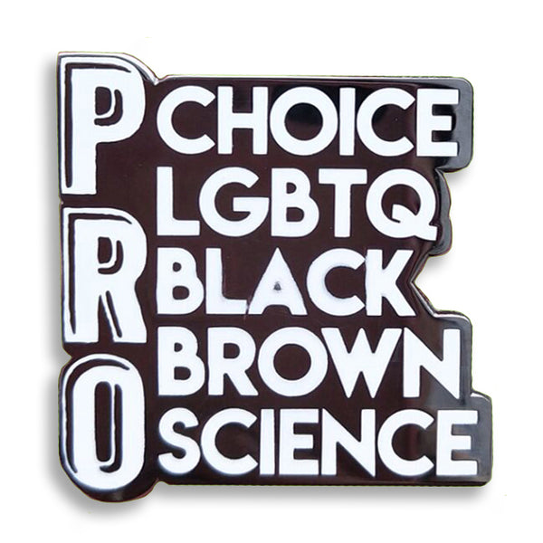 Intersectional Activist Hard Enamel Pin