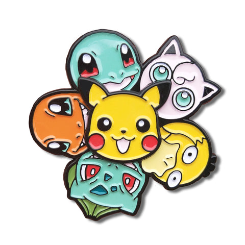 Pokemon Spinning Enamel Pin