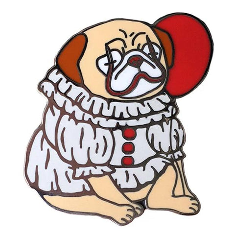 Puggywise The Clown Hard Enamel Pin