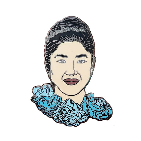 Crazy Rich Asians Rachel Hard Enamel Pin