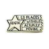 Reading Star Enamel Pin