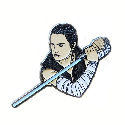 Star Wars Rey Enamel Pin
